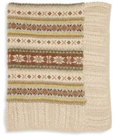 Ralph Lauren Baby's Fair Isle Wool Blend Blanket