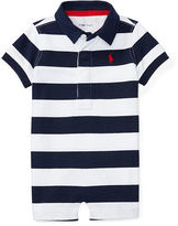 Ralph Lauren Boy Striped Cotton Jersey Shortall