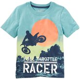 "Osh Kosh Boys 4-8 Full Throttle Racer"" Tee"
