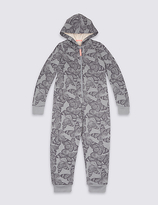 Marks and Spencer Butterfly Hooded Onesie (3-16 Years)