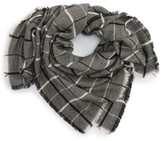BP Women's Twill Stripe Square Scarf