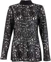 **Closet Black Lace Blouse