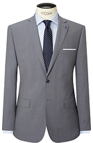 Daniel Hechter Textured Marl Tailored Fit Suit Jacket, Grey