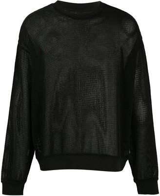 Stussy Pig. Dyed mesh sweatshirt