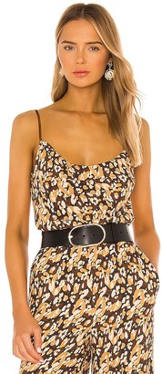 House Of Harlow x REVOLVE Leopard Silky Cami