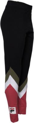 Fila Inaya High Rise Legging - Black / Mineral Red