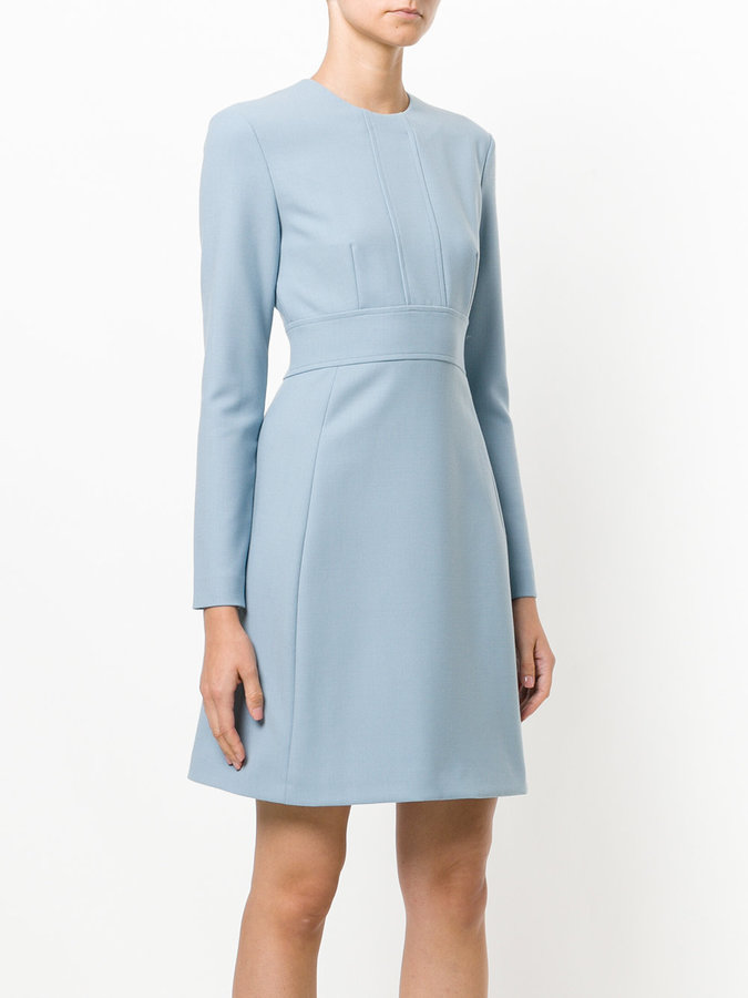 Dondup fit and flare dress