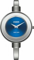 Jowissa Women's J6.082.M Bangle Stainless Steel Polished Bangle Blue Dial Watch