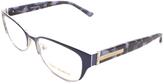 Tory Burch Blue Browline Eyeglasses