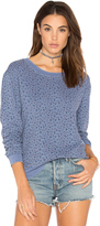 Stateside French Terry Floral Sweatshirt