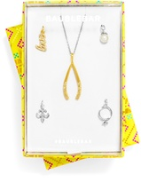 BaubleBar Love You Forever Charm & Chain Set