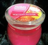 Yankee Candle Home Classics 10 oz Tumbler Candle VOLCANO FLOWER - Retired Scent