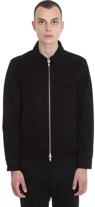 Mauro Grifoni Jacket In Black Suede