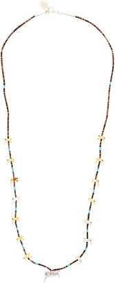 Jessie Western Hummingbird beaded necklace