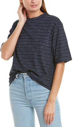 Vince Wide Sleeve Cropped T-Shirt