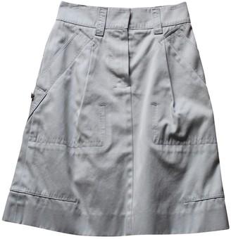 Louis Vuitton \N Grey Cotton Skirts