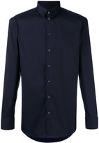 Emporio Armani buttoned shirt - men - Cotton/Polyamide/Spandex/Elastane - 41