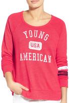 Sundry &Young American& Raglan Sweatshirt