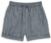 Splendid Girl's Stripe Chambray Shorts
