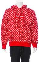 Louis Vuitton x Supreme 2017 All Over Monogram Box Logo Hoodie w/ Tags