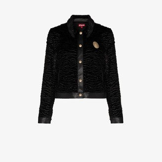 STAUD Buddha faux shearling jacket