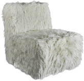 Urbia Faux Fur Harmony Slipper Chair