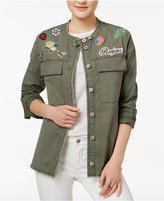 William Rast Appliqued Safari Jacket