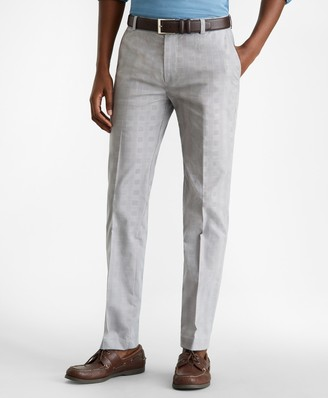 Brooks Brothers Milano Fit Glen Plaid Stretch Advantage Chino Pants