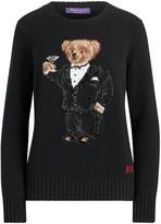 Ralph Lauren Martini Bear Cashmere Crewneck Sweater