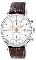 Dugena Premium Men's Quartz Watch Festa 7000169 with Leather Strap