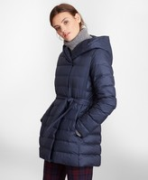 Brooks Brothers Water-Repellent Down-Filled Wrap Coat