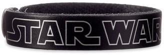 Disney Star Wars Logo Leather Bracelet Personalizable