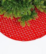 Southern Living Homestead Holidays Cutout Felt Tree Skirt