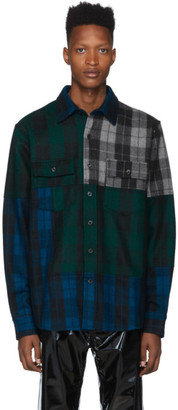 Buffalo David Bitton Liam Hodges Multicolor Check Overshirt