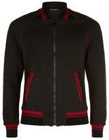 Dolce & Gabbana Contrast Trim Bomber Jacket