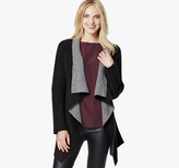 Johnston & Murphy Draped Double-Faced Cardigan
