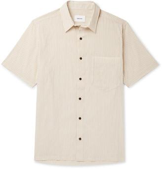 Nanushka Adam Striped Cotton-Blend Shirt