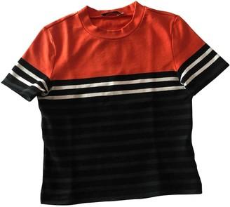 Alexander Wang Orange Cotton Top for Women