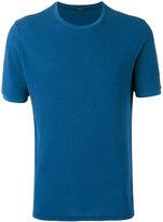 Zanone knitted T-shirt - men - Cotton - 48
