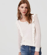 LOFT Ruffle Sweater