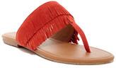 BC Footwear Dinky Suede Fringe Sandal