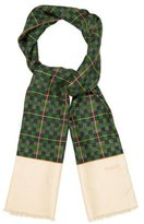 Gucci Silk & Cashmere-Blend Scarf