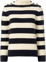 Exclusive for Intermix Magdalena Striped Cropped Sweater