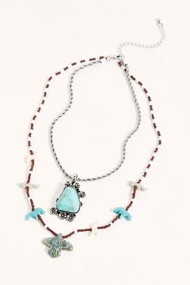 Free People Avalon Stone Necklace