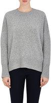 Theory Women's Karenia Cashmere Sweater-LIGHT GREY