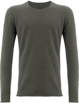 Label Under Construction crew neck jumper - men - Cashmere/Wool - 48