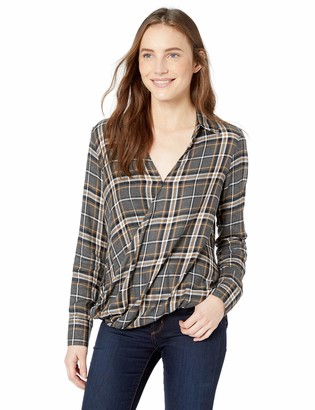 Bailey 44 Women's Wipe Out Plaid Suprlice Front Top
