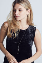 BCBGeneration Long Statement Necklace - Silver