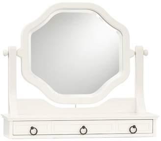 Pottery Barn Teen Vanity Mirror, Simply White