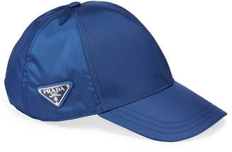 Prada Men's Logo-Plaque Baseball Cap
